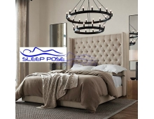 sleep-pose wingback bedframe